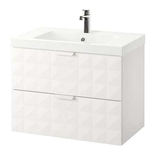 Verwonderlijk GODMORGON / ODENSVIK - 792.473.48 - Sink cabinet with 2 drawers EJ-02