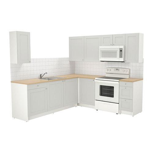 Verwonderend KNOXHULT - 592.477.97 - Corner kitchen, gray | by IKEA of Sweden DG-05